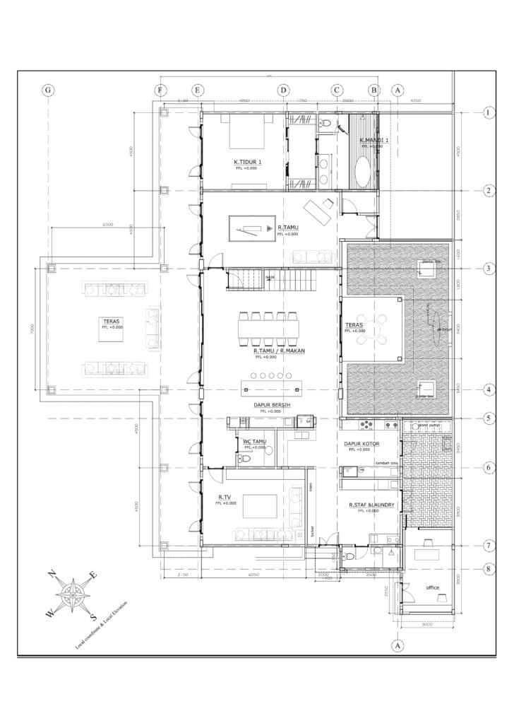 Villa Marang ground floor